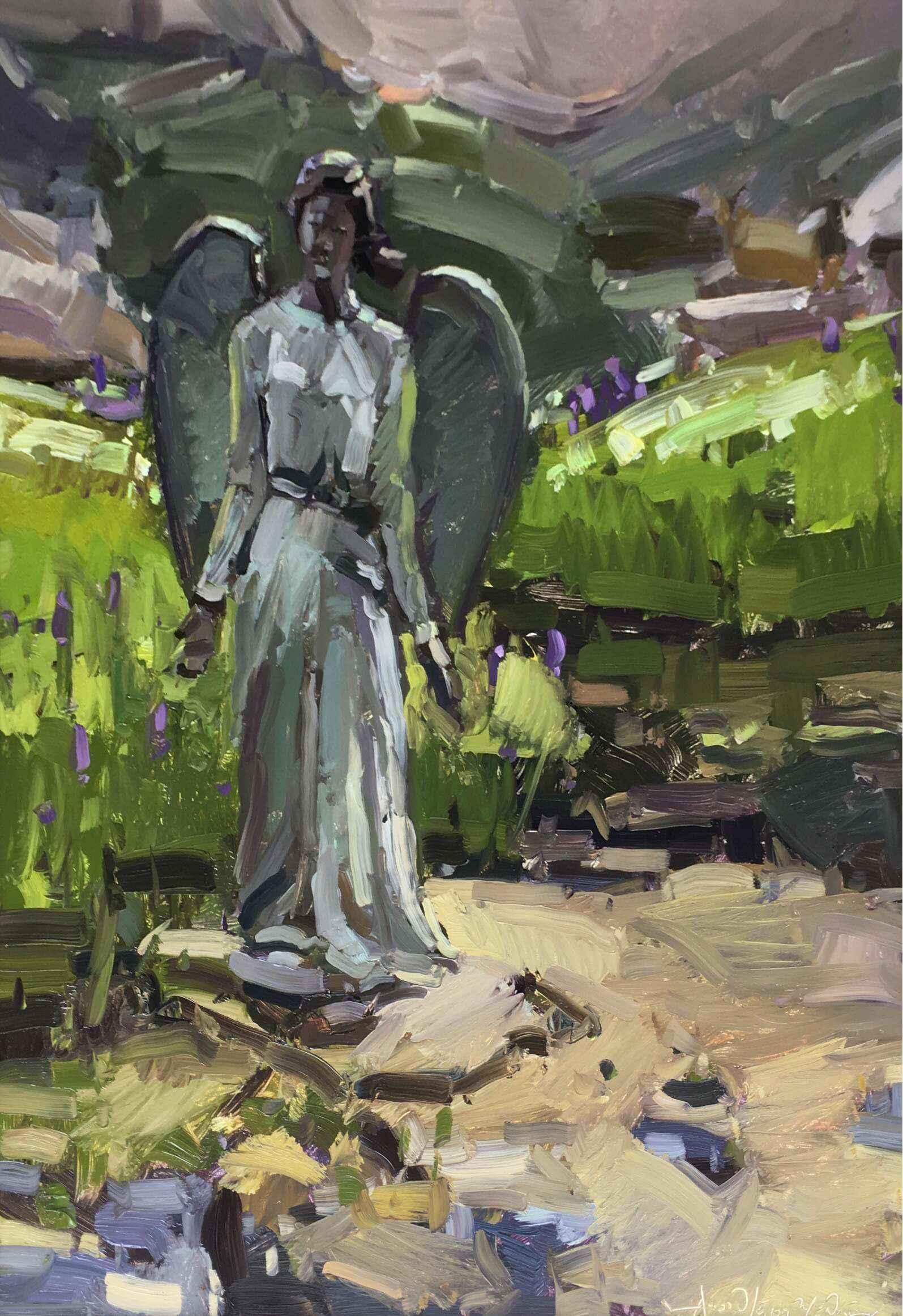 The Angel by  Alison Menke - Masterpiece Online