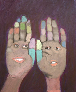 Hands With Faces by    - Masterpiece Online