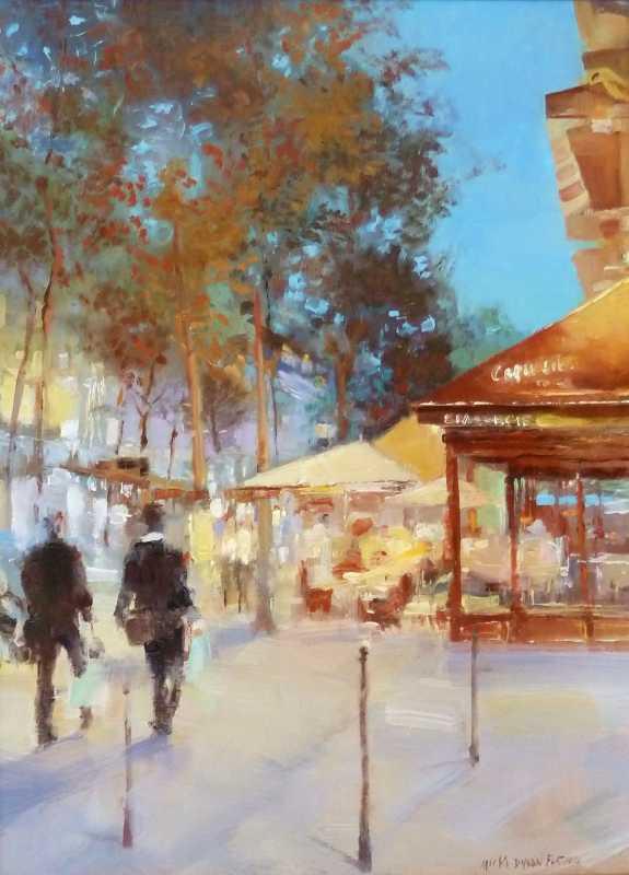 Cafe Capucine by  Micki Dyson Flatmo - Masterpiece Online