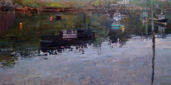 Quiet Sunday by  Daud Akhriev - Masterpiece Online