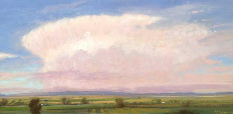 White Cloud by  Raymond L. Knaub - Masterpiece Online