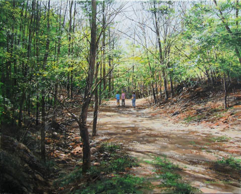 Road to the Old Homep... by  Michael Wheeler - Masterpiece Online