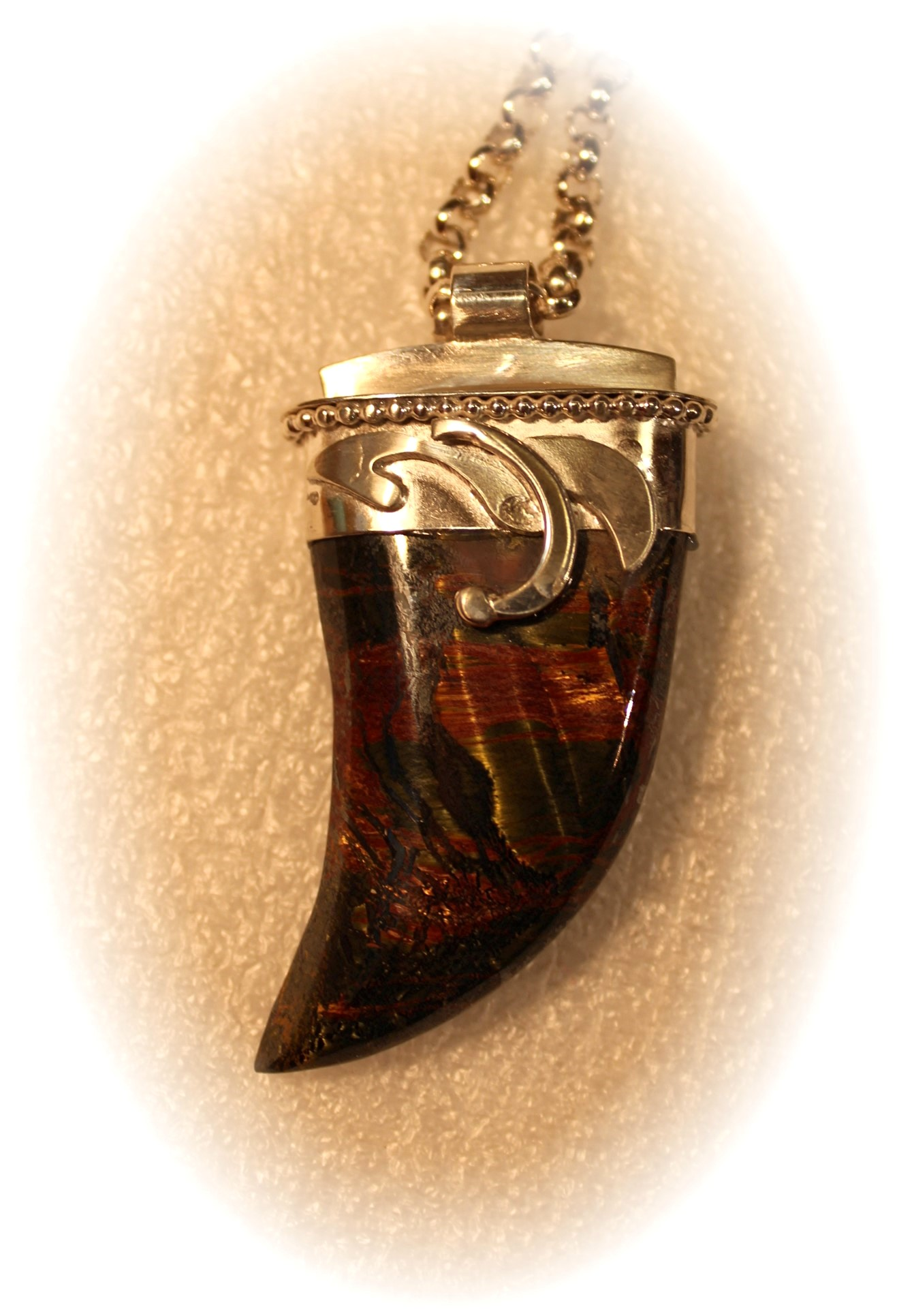 P281 Pendant with Mar... by  Michael Redhawk - Masterpiece Online