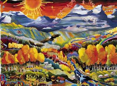 Legends of the Fall I... by MS Nancy Dunlop Cawdrey - Masterpiece Online