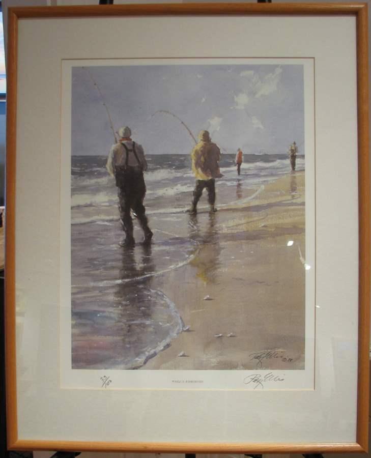 Wasque Fisherman- 198... by  Ray Ellis - Masterpiece Online