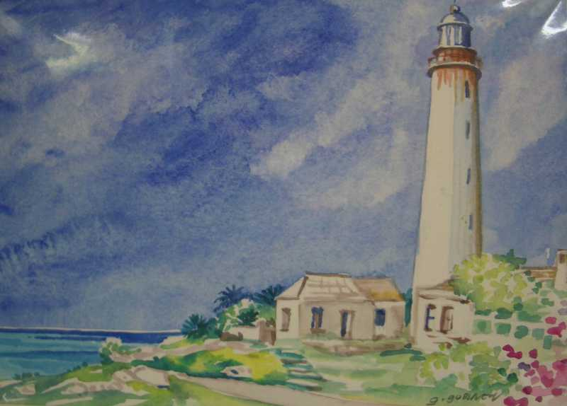Barbados Lighthouse  ... by Ms Gilly Gobinet - Masterpiece Online