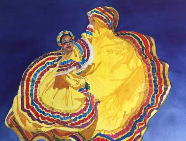 Ballet Folklorico by  Carolyn Streed - Masterpiece Online