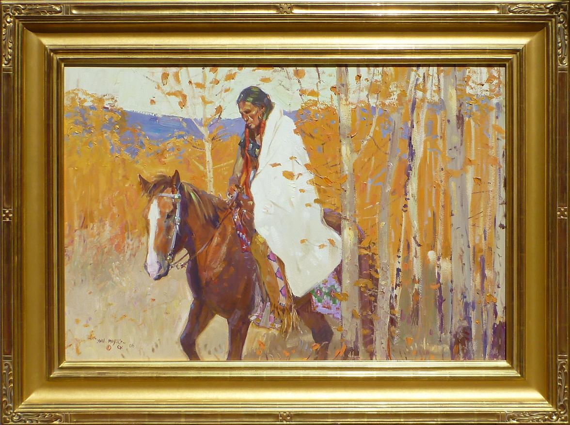 Aspens Above Taos by Mr. & Mrs. John Moyers - Masterpiece Online