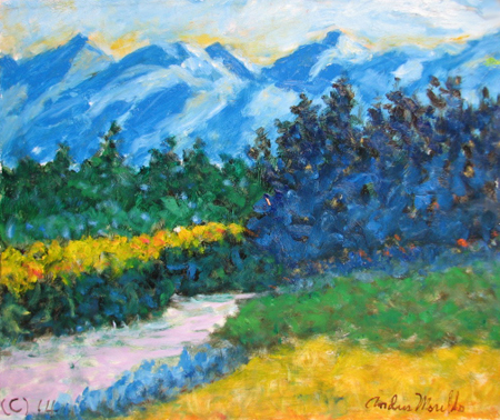 Sierra Mountains by  Andres  Morillo - Masterpiece Online