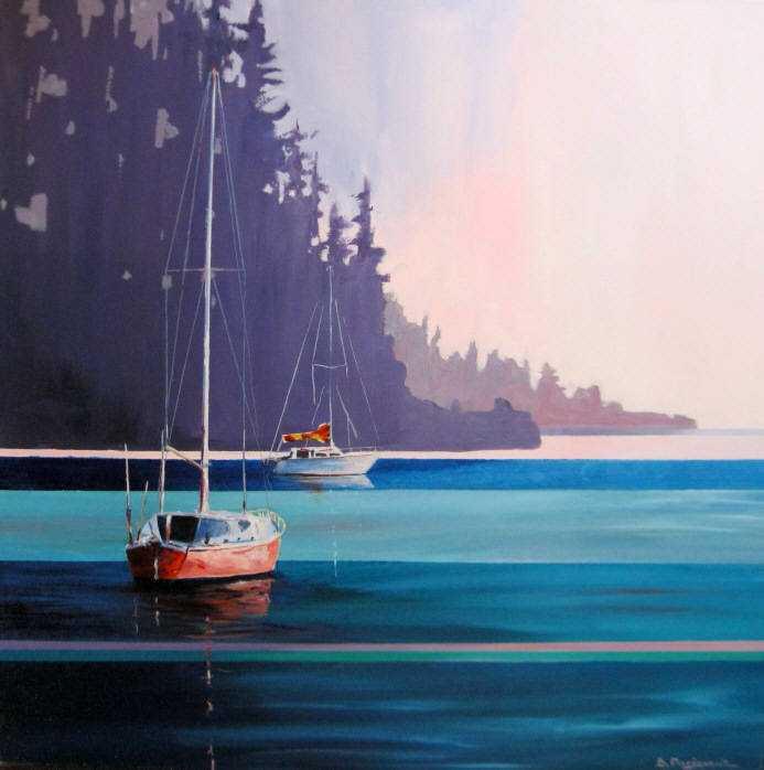 Hidden at Lion's Bay by  Branko Marjanovic - Masterpiece Online