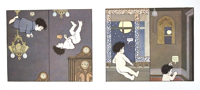 In The Air by  Maurice Sendak - Masterpiece Online