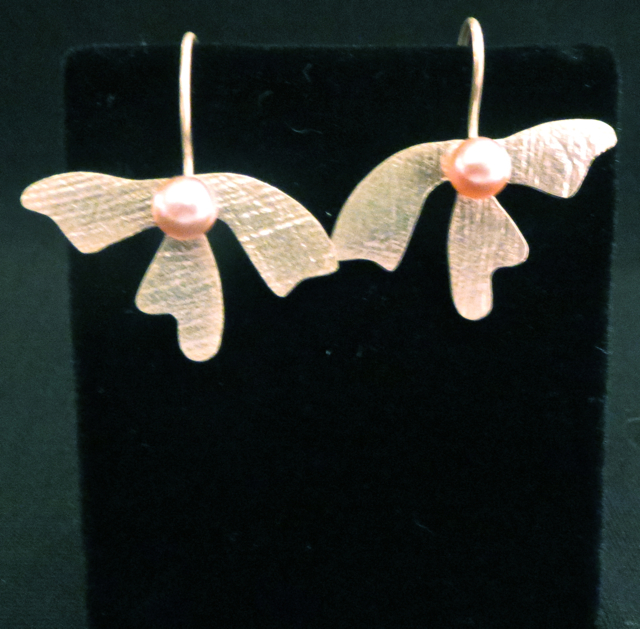 Earrings  Argentium S... by Mrs. Lana McMahon - Masterpiece Online