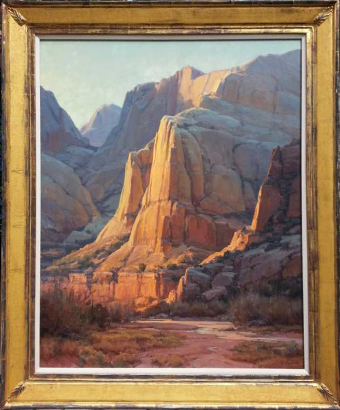 Sunset, Capital Reef by  Clyde Aspevig - Masterpiece Online