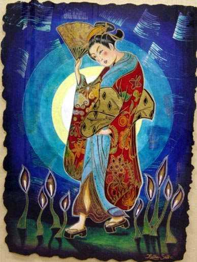 Moonlit Stroll by  Matthew Smith - Masterpiece Online