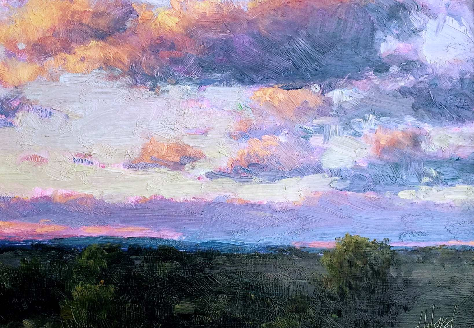 Passing Clouds by  Don Ward - Masterpiece Online