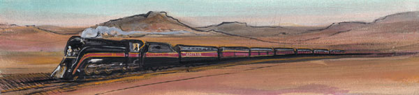 DP-PRIDE OF THE LINE by  P. Buckley Moss  - Masterpiece Online