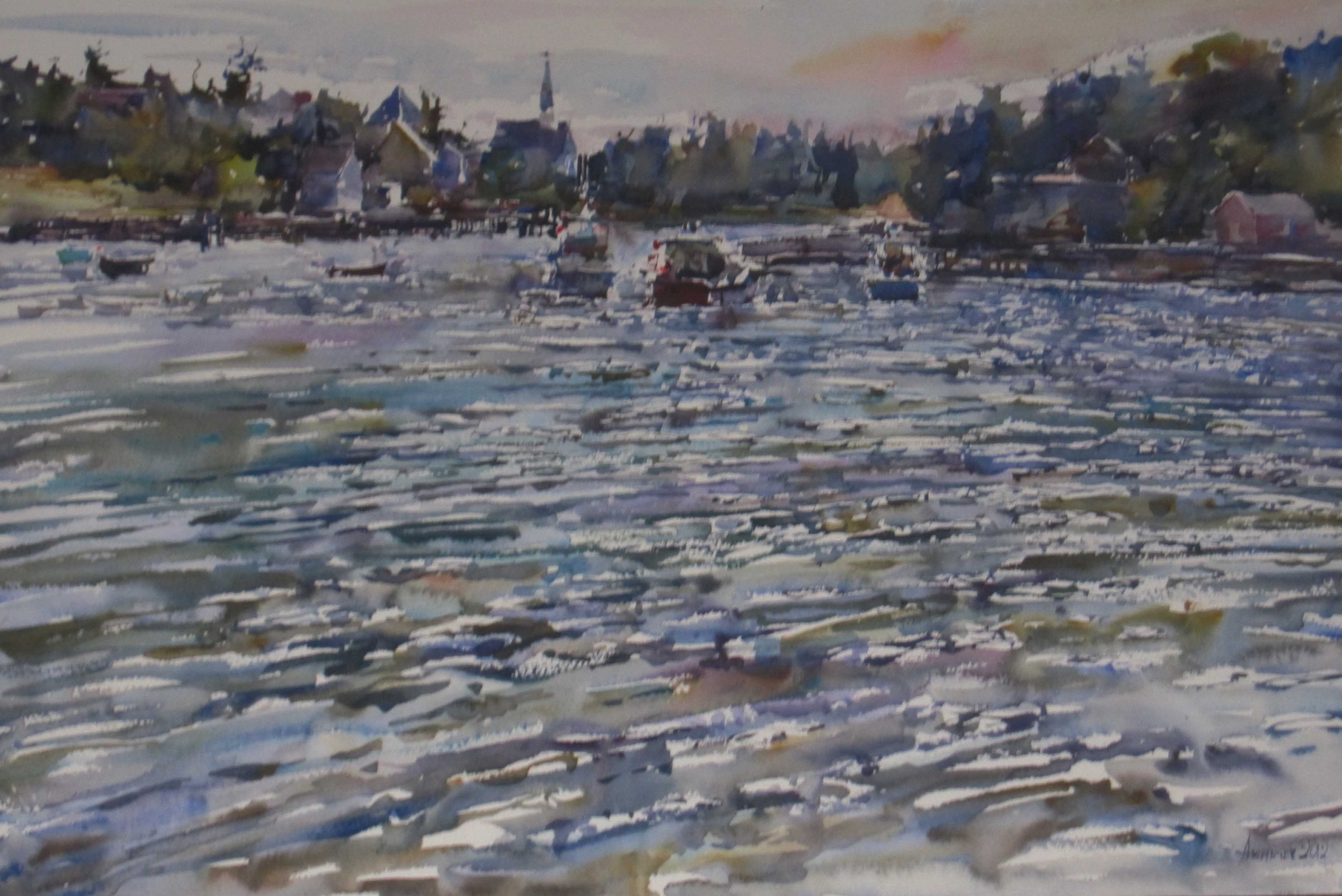 Afternoon Breezes by  Daud Akhriev - Masterpiece Online
