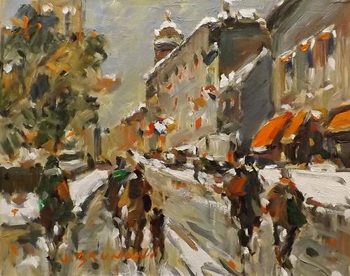 Quebec, rue Buade 239... by  Serge Brunoni - Masterpiece Online