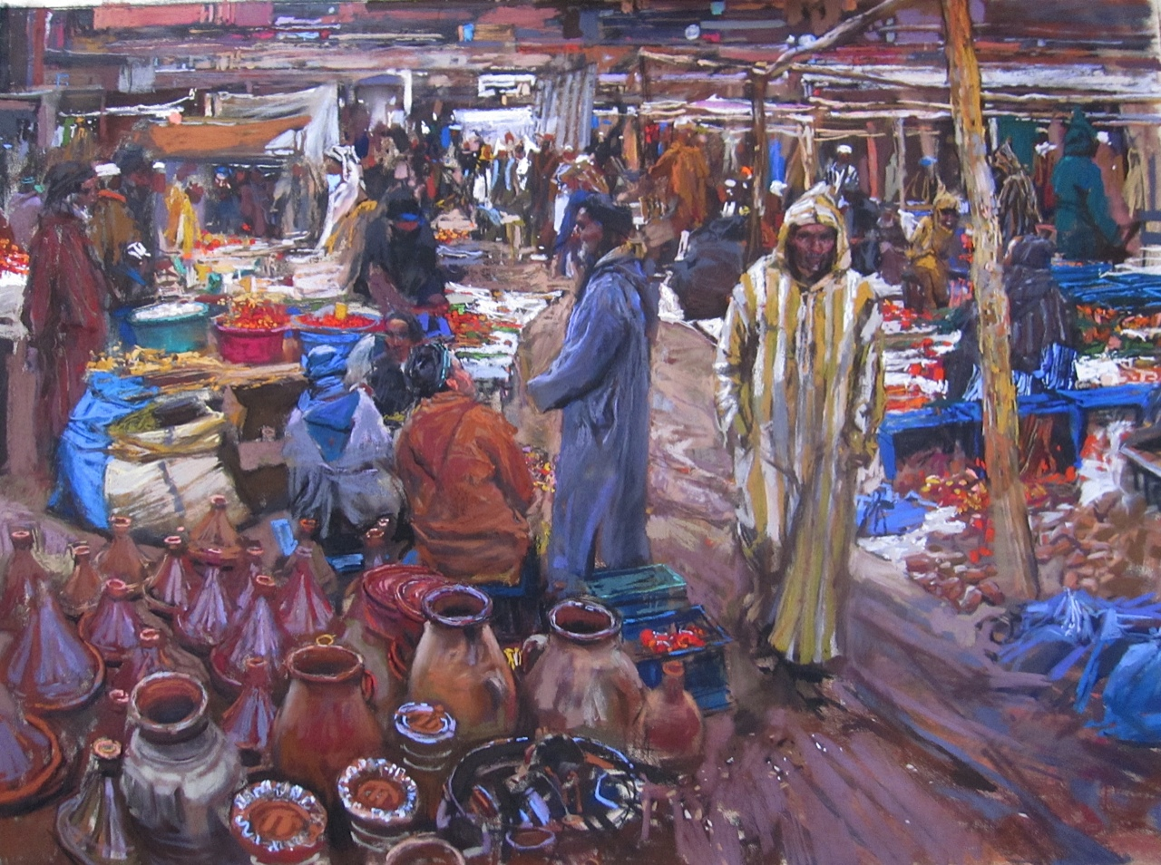 High Atlas Market by  Daud Akhriev - Masterpiece Online