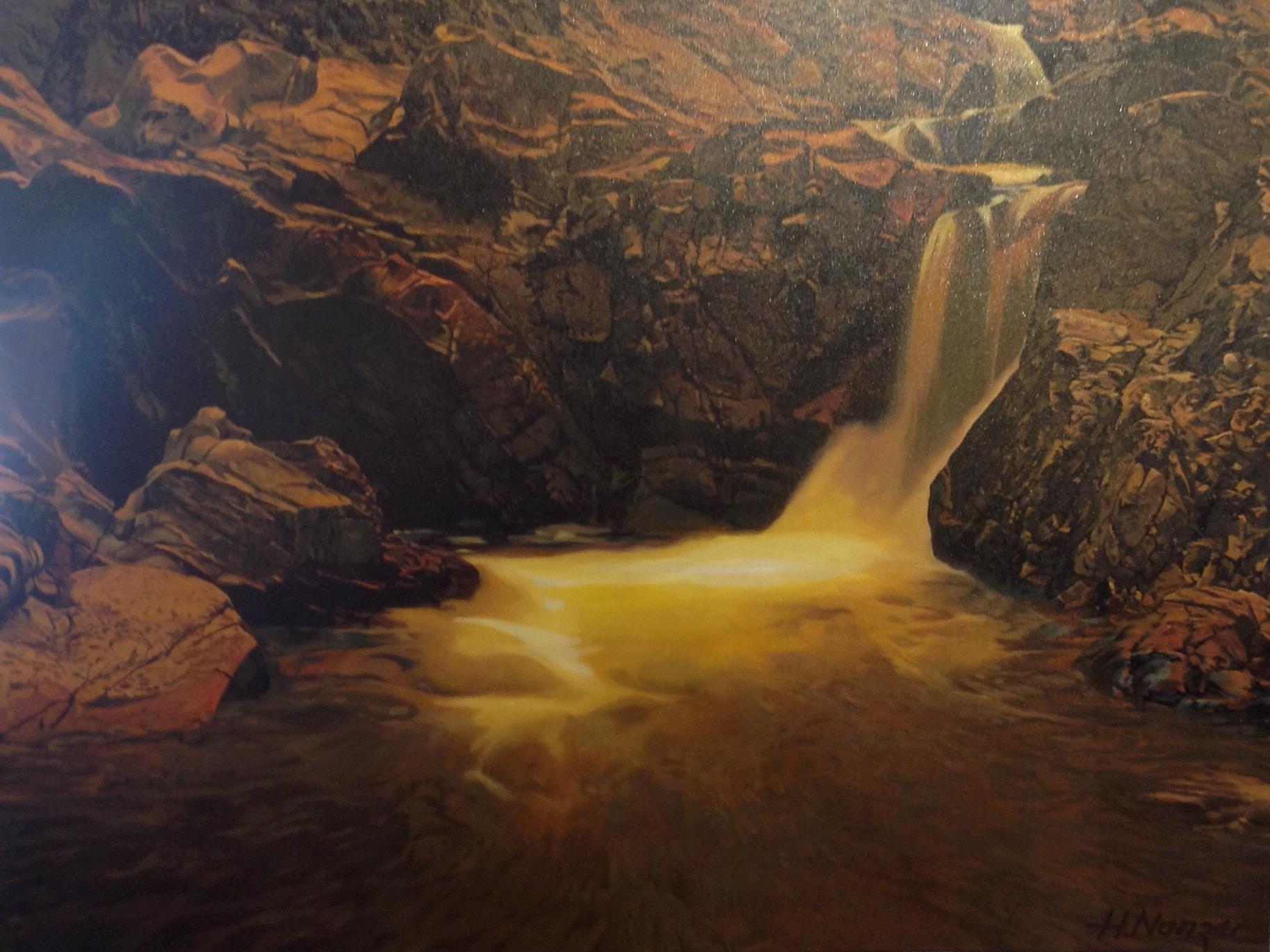 Idyllic Mountain Creek by  Hubert Nanzer - Masterpiece Online