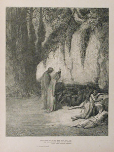 And There Were Some  by  Gustave Dore