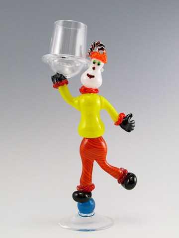Goblet/Clown by  Mike Wallace - Masterpiece Online