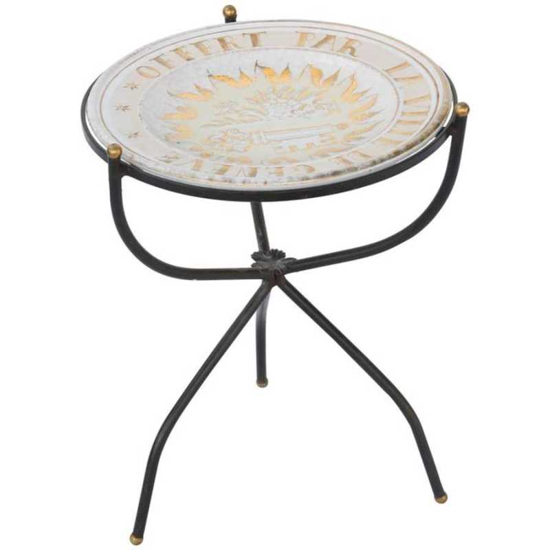 Iron Accent Table wit... by  Continental  - Masterpiece Online