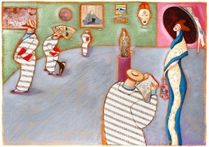 Klimt At The Museum represented  by  Octavia Monaco