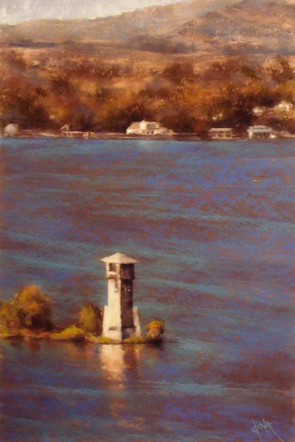 Lighthouse Reflections by Mrs Dina Gregory - Masterpiece Online