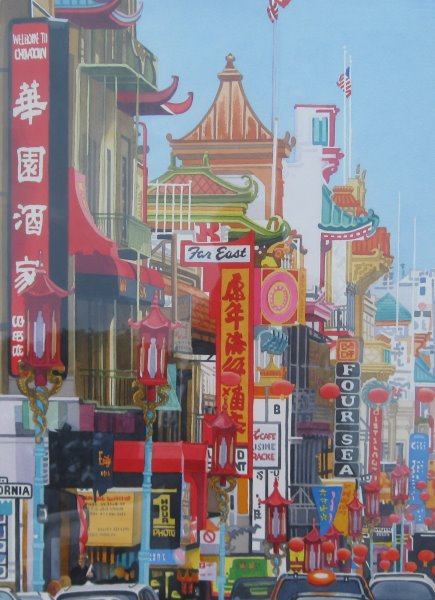 Welcome to Chinatown,... by  Rodney Moser - Masterpiece Online