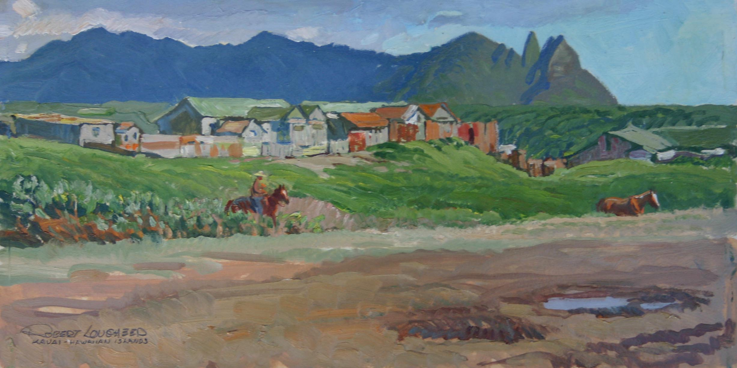 Driving North From Ka... by  Robert Lougheed - Masterpiece Online
