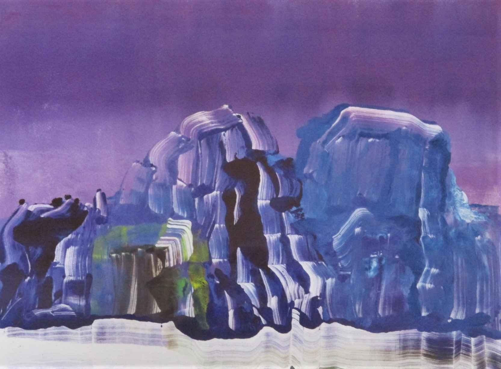 Untitled (Purple Moun... by  Adam Sorensen - Masterpiece Online