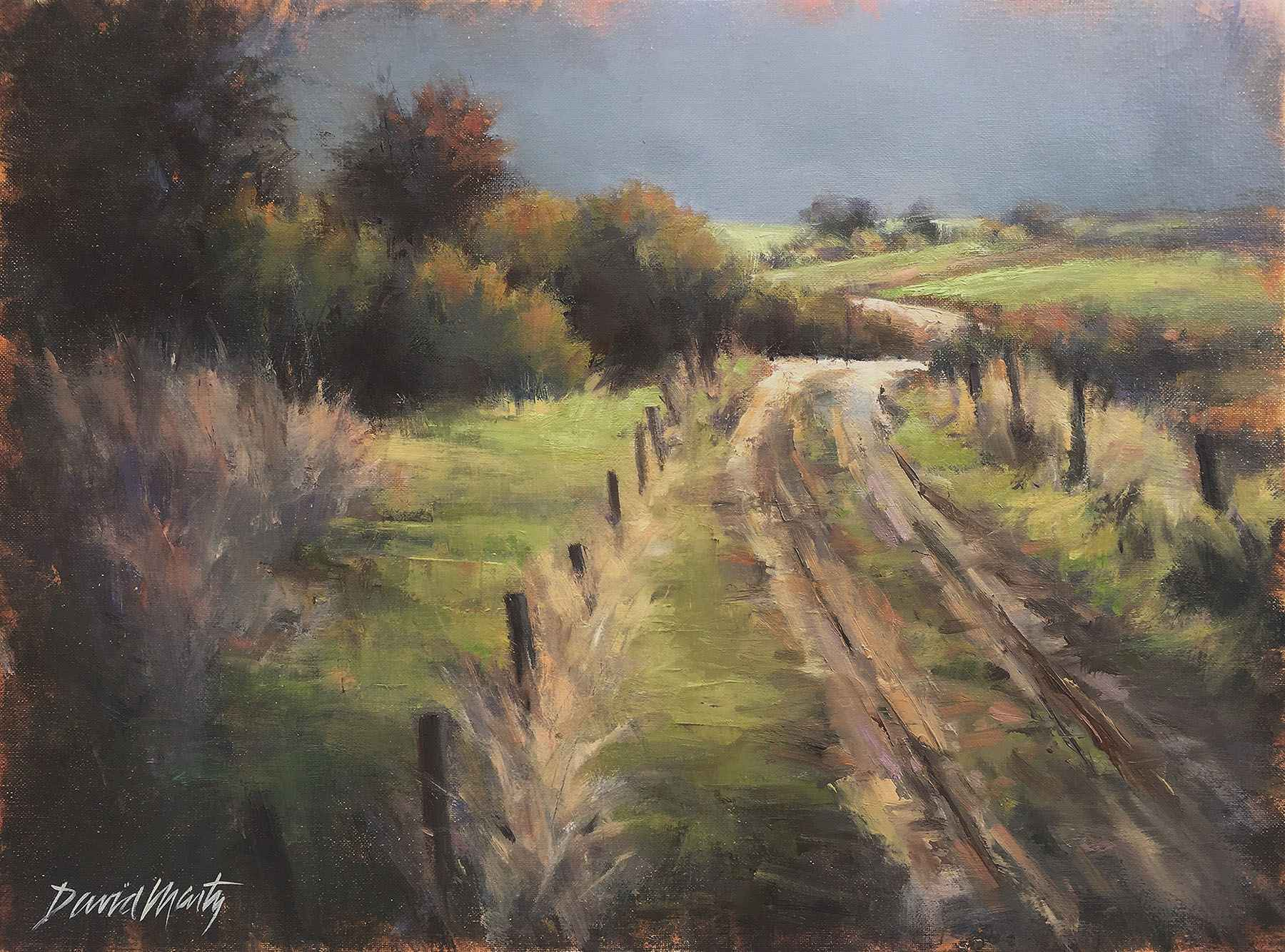 Morning  Walk by  David Marty - Masterpiece Online