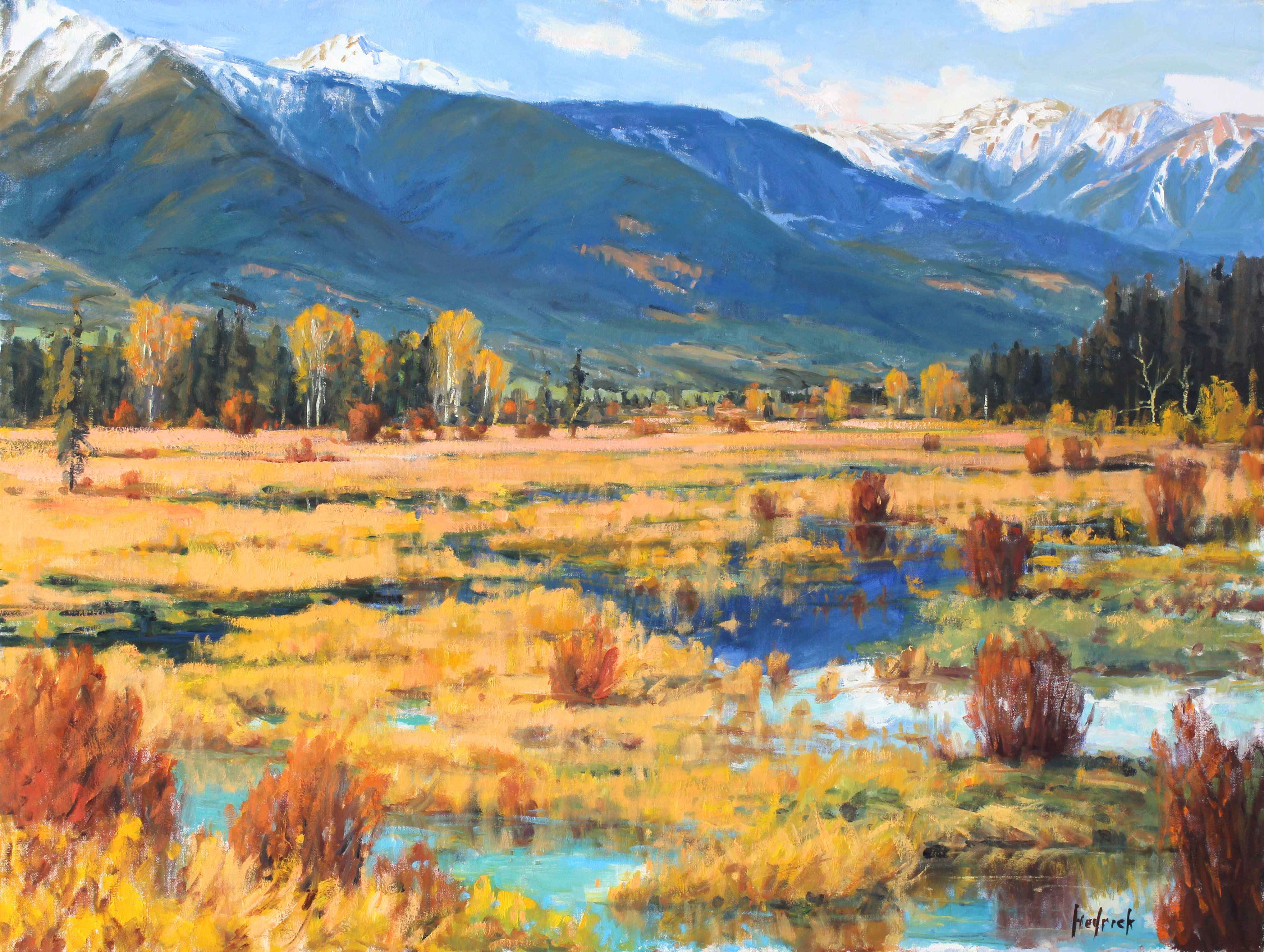 Wilderness Swamps  by  Ron Hedrick