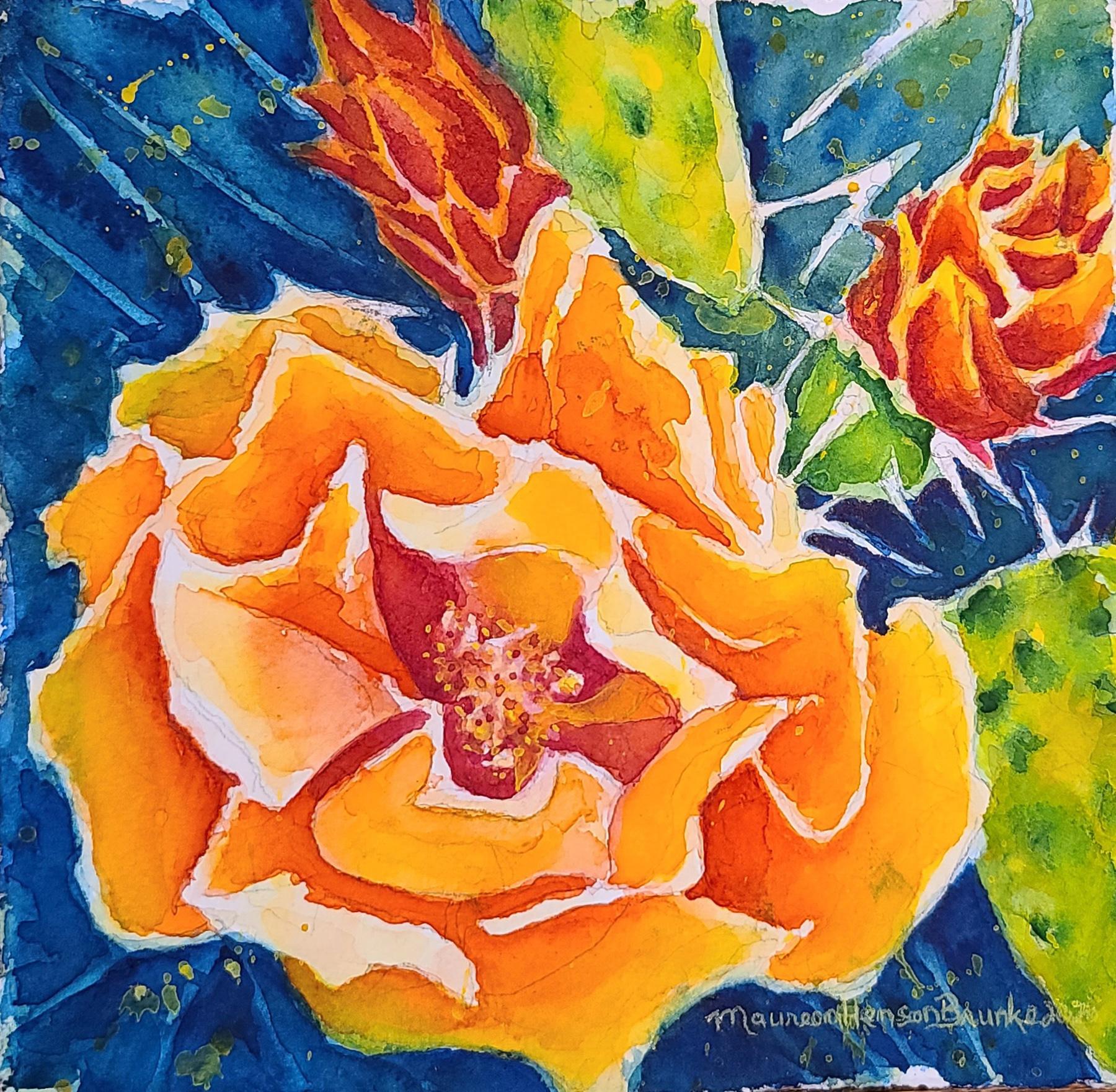 Desert Bloom 2 by  Maureen Henson-Brunke - Masterpiece Online