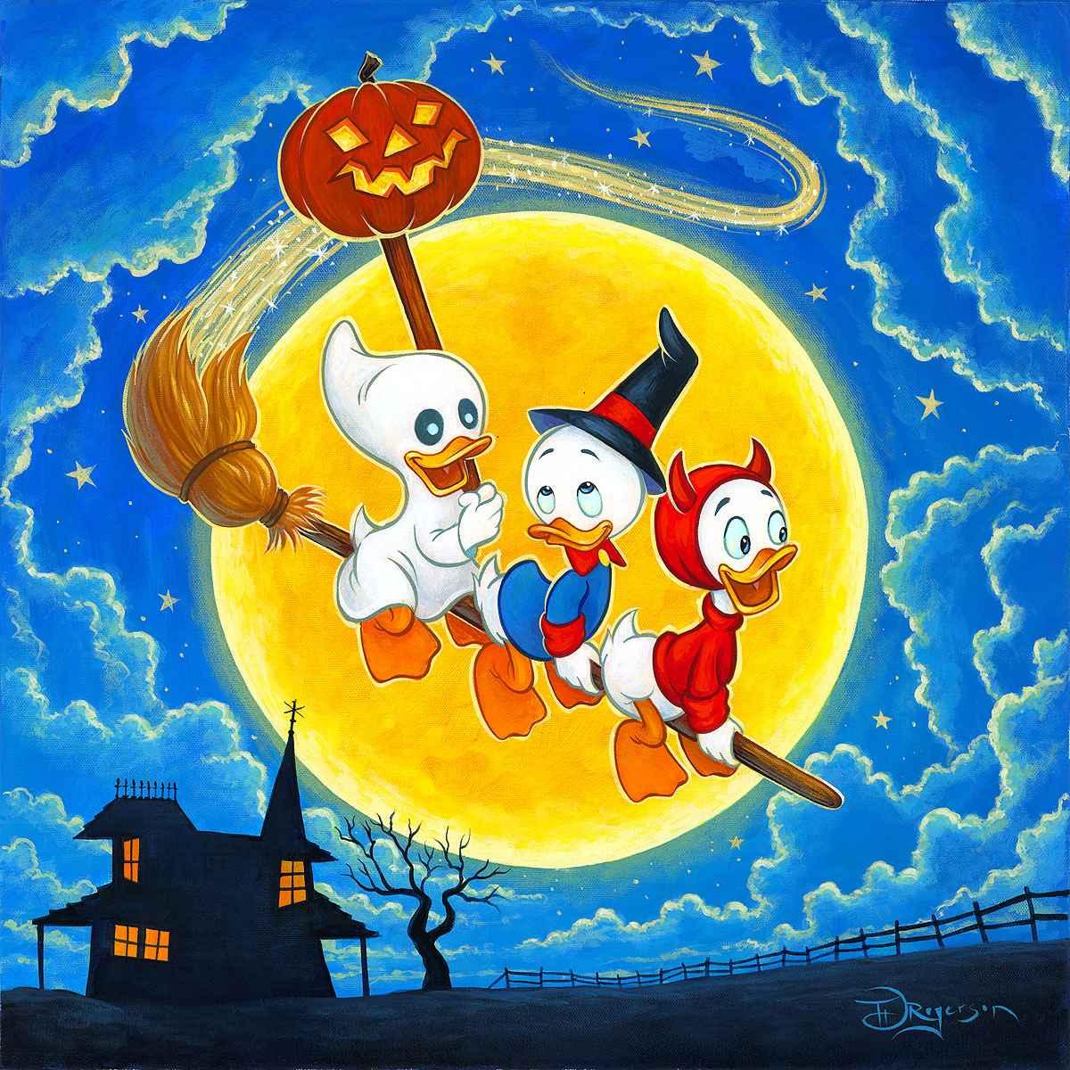 Halloween Tricks by  Tim Rogerson - Masterpiece Online