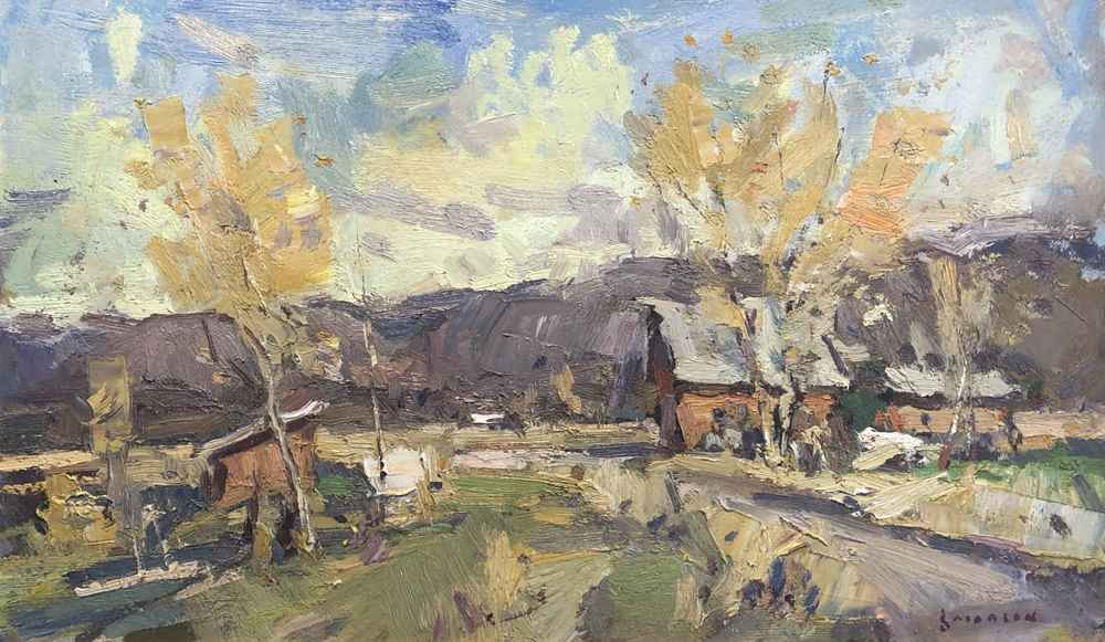 Ranch Buildings  by  Eric Jacobsen