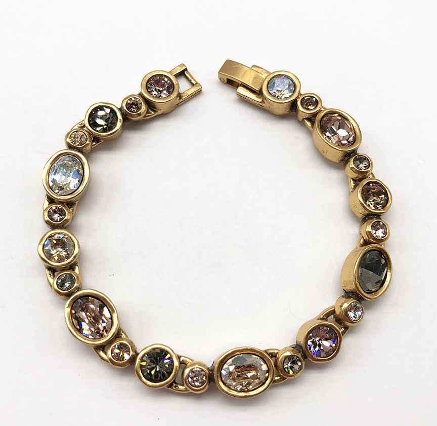 Bliss Bracelet in Gold, Champagne 7 1/4