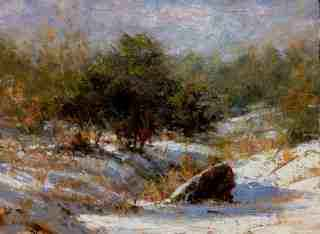 Snow on the Meadow by Mr Eric Michaels - Masterpiece Online