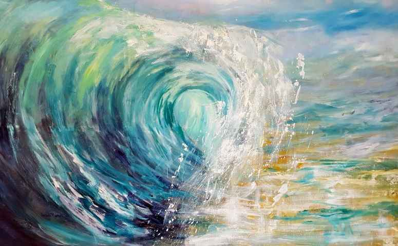 The Wave by Mrs. Susan Mains - Masterpiece Online