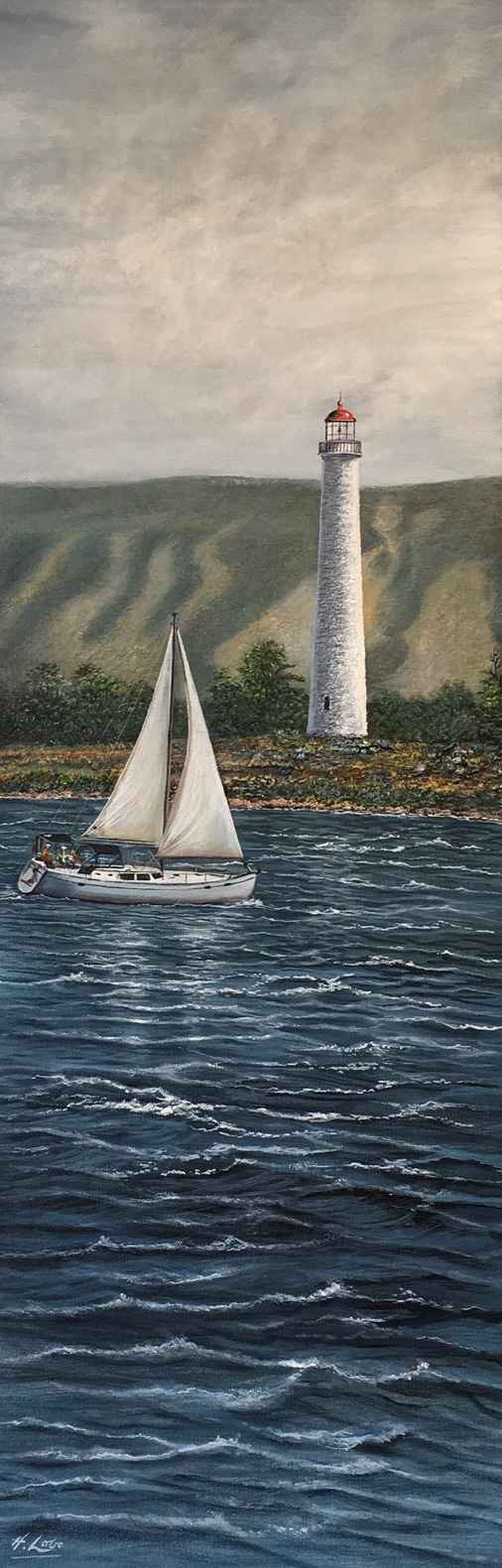 Nottawasaga Lighthouse by  Henry Lobo - Masterpiece Online