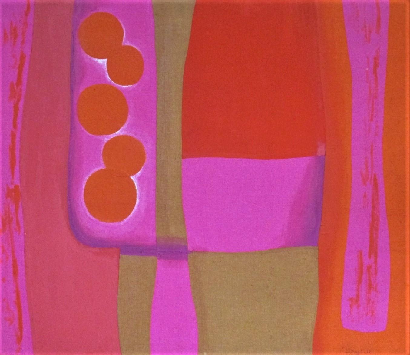 Untitled (pink/orange) by  Bonnie Bartell - Masterpiece Online