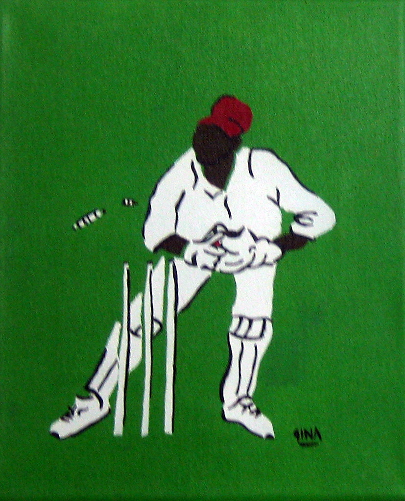 Wicket Keeper by Ms Gina Foster - Masterpiece Online
