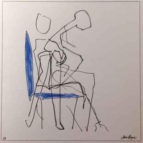 Reclining Man #1 (In ... by  Steve Lyons - Masterpiece Online
