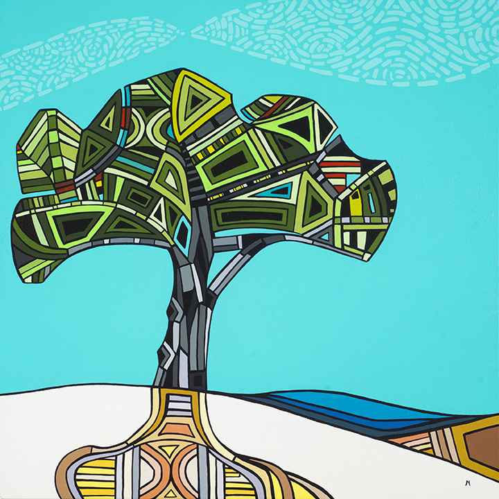 Sea and Tree by  Marci Erspamer - Masterpiece Online