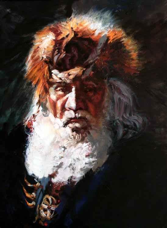 A NEW WORK- Pilgrim by  Glen Edwards - Masterpiece Online