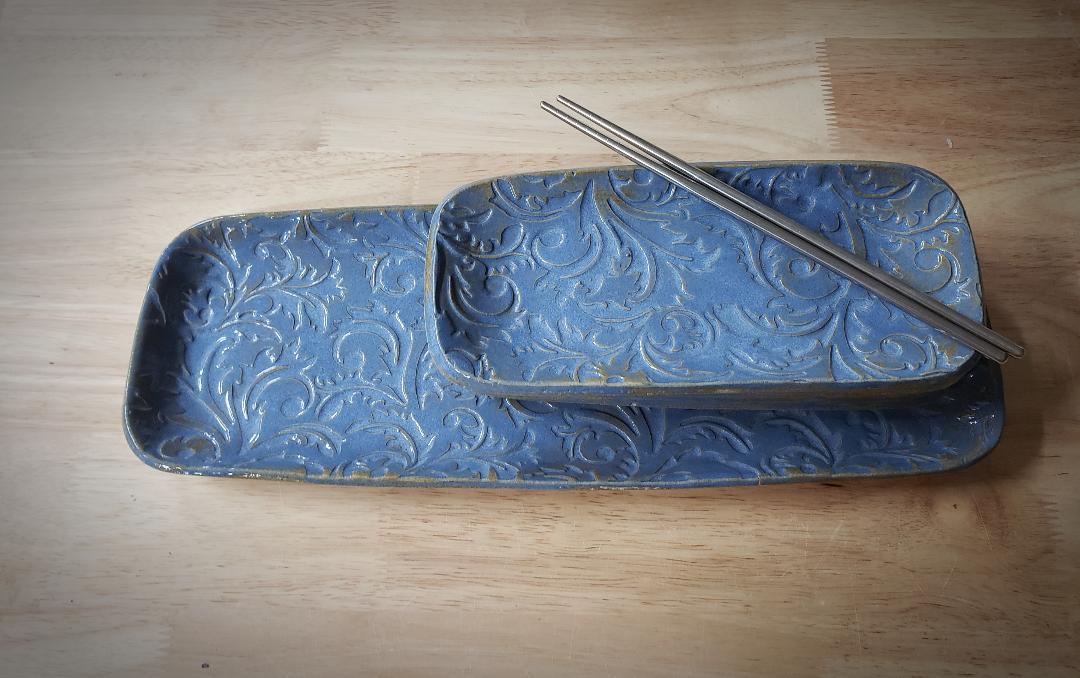 Sushi Set, Blue Lace