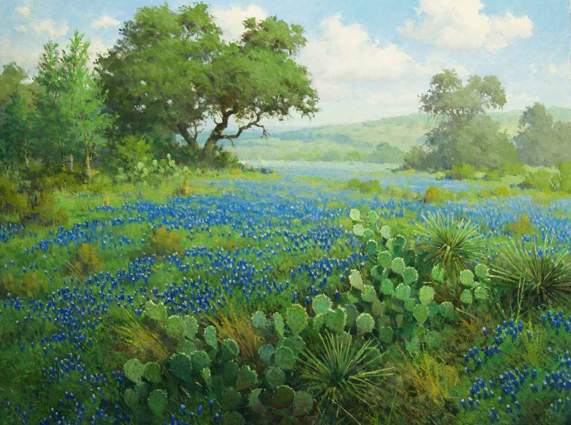 Spring In The Texas H... by Mr. & Mrs. Robert Pummill - Masterpiece Online