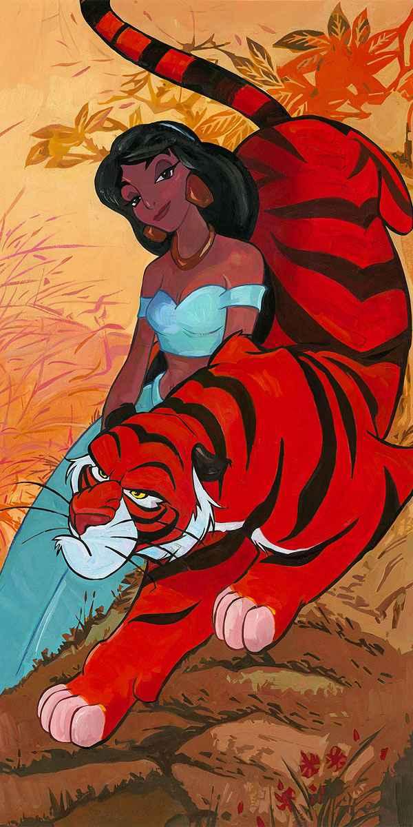 Jasmine's Fierce Prot... by  Jim Salvati - Masterpiece Online