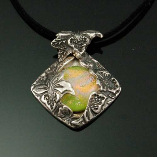 PRE1311 Fine Silver P... by  Pam East - Masterpiece Online